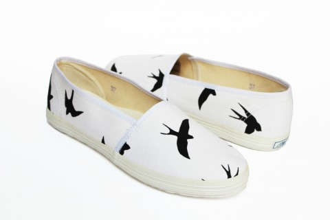 BLACK BIRD ESPADRILLES