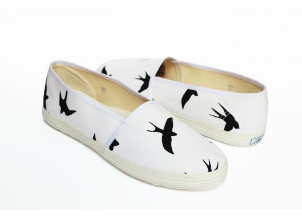 BLACK BIRD ESPADRILLES